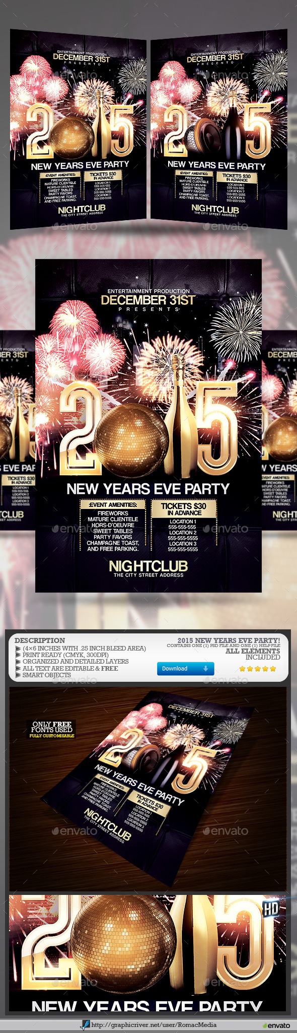 2015 NYE Party - Clubs & Parties Events