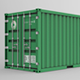 40F Shipping Container - 3DOcean Item for Sale