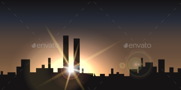 City Sunset - Miscellaneous Conceptual