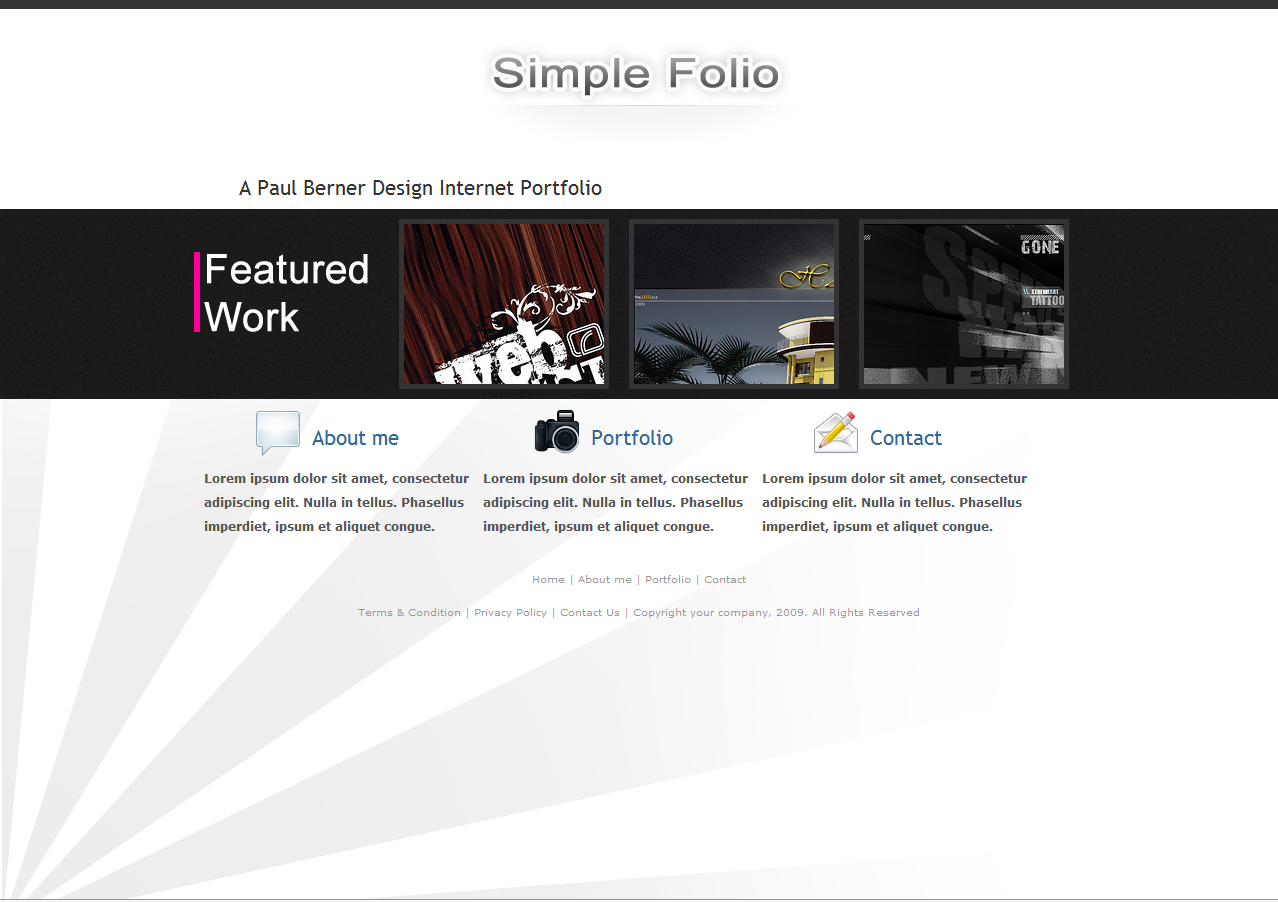 Free Download SimpleFolio Nulled Latest Version