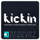 kickin Pagewiz Conference Event Landing Page - ThemeForest Item for Sale