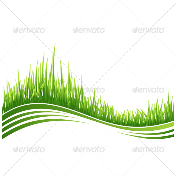 Green grass - Backgrounds Decorative