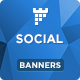Social Banners - Social Web Banner Template