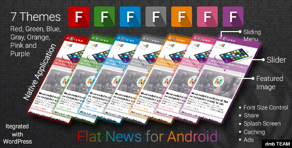 Flat News for Android - CodeCanyon Item for Sale