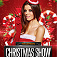 Christmas Show Party Flyer - GraphicRiver Item for Sale