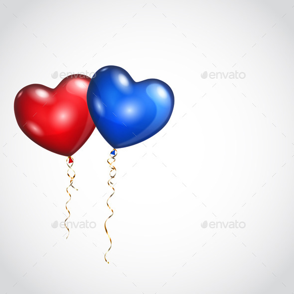 Two Balloons - Miscellaneous Seasons/Holidays