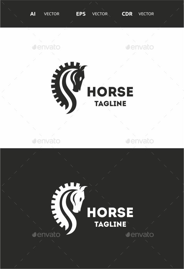 Horse - Symbols Logo Templates