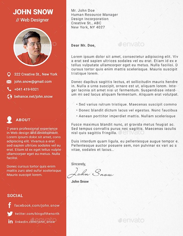 Web and Graphic Designer Resume/CV