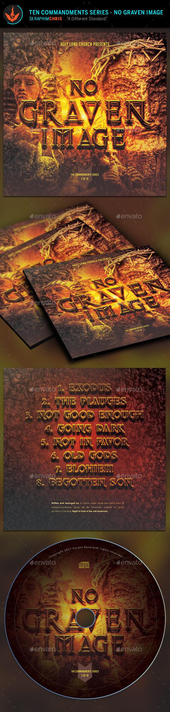 No Graven Image: CD Artwork Template - CD & DVD Artwork Print Templates