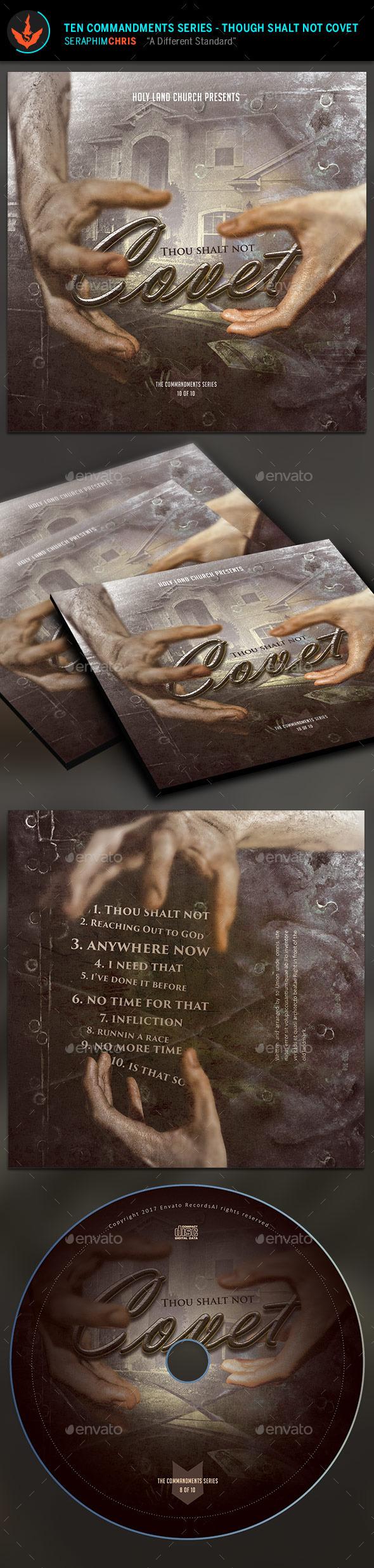 Don't Covet: CD Artwork Template - CD & DVD Artwork Print Templates