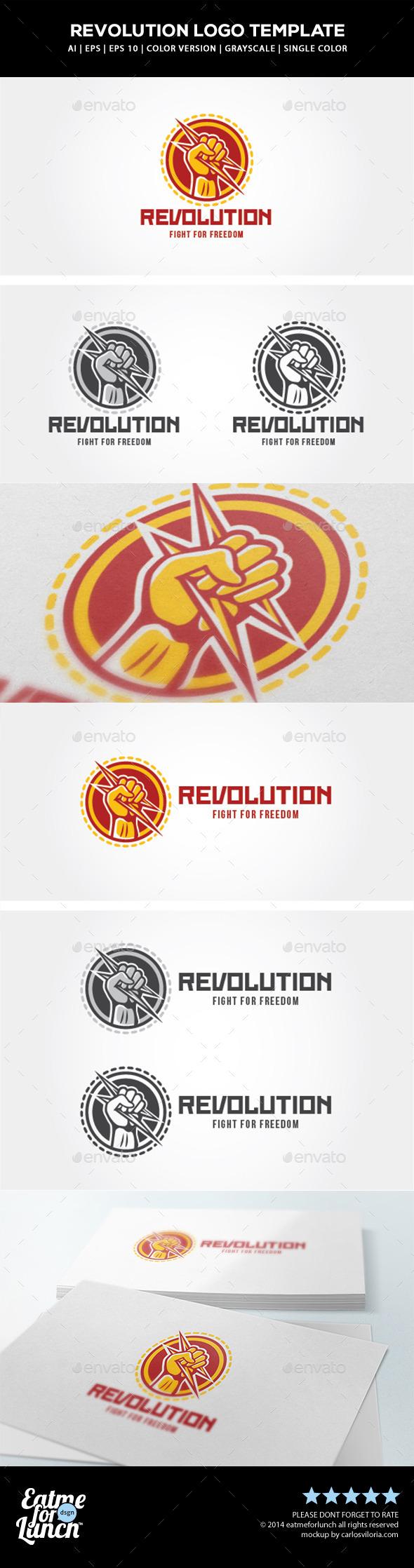 Revolution Logo Template - Humans Logo Templates