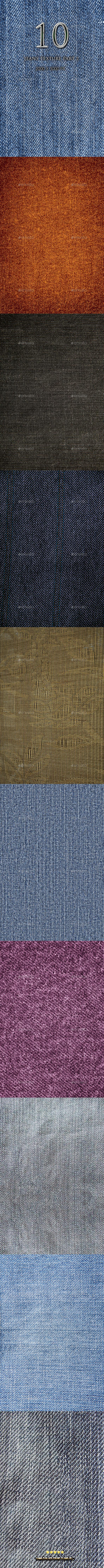 10 Jeans texture Part 2 - Textures
