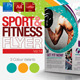 Fitness & Sport Flyer Template Vol.14 - GraphicRiver Item for Sale