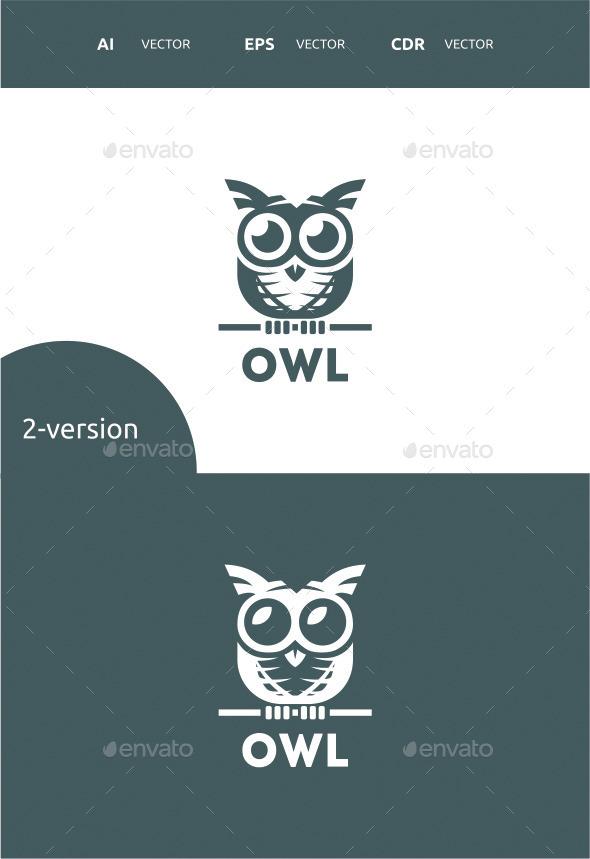 Owl - Symbols Logo Templates