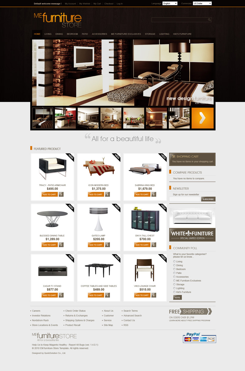 Layout_FurnitureStore_01_Home ...