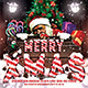 Merry Christmas Flyer Template v1 - GraphicRiver Item for Sale
