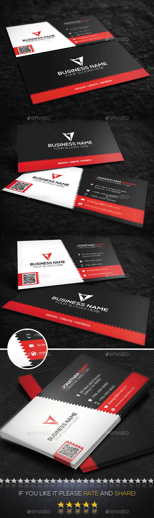 Corporate Business Card No.11 - Corporate Business Cards