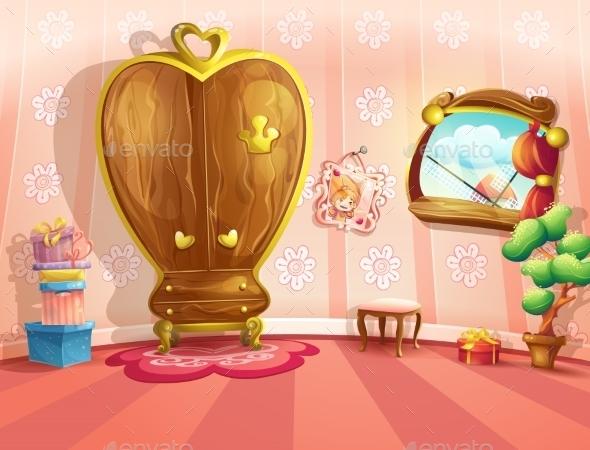 Princess Bedroom - Birthdays Seasons/Holidays