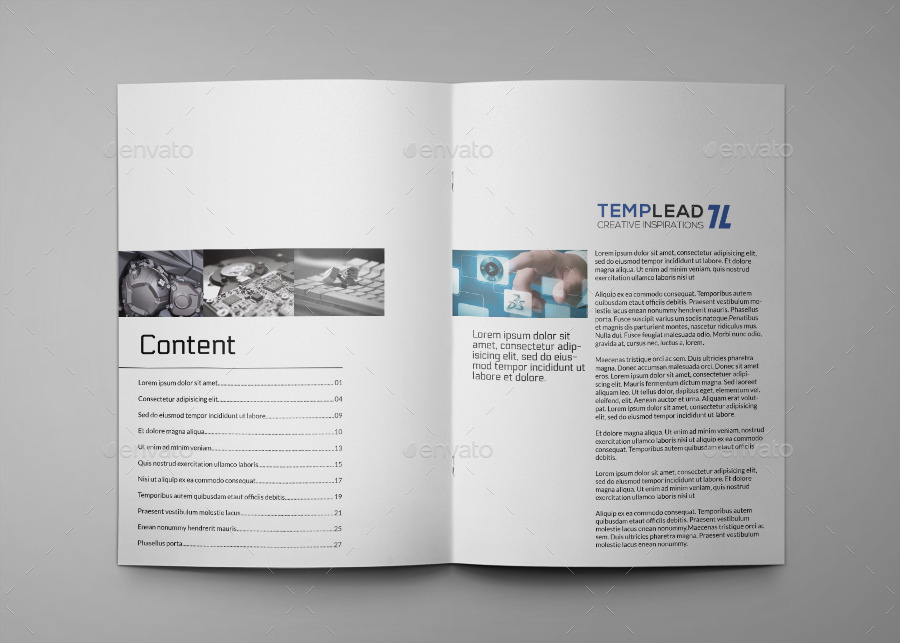 product catalogue templates