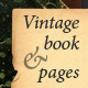 Vintage Book and Pages - GraphicRiver Item for Sale