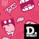 Comic Laugh Pattern - GraphicRiver Item for Sale