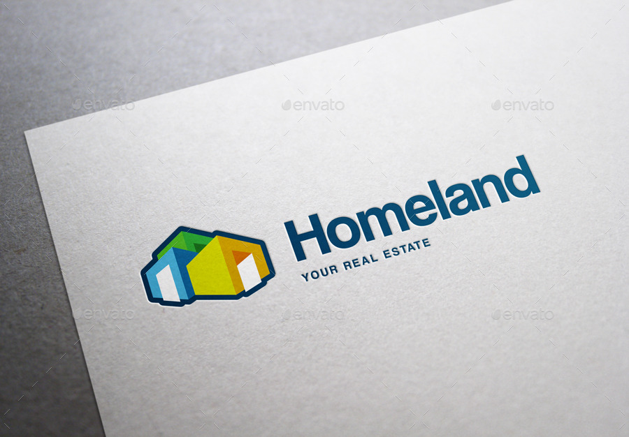 Modern Real Estate Logo Template by DogmaDesign | GraphicRiver