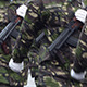 Soldiers with Guns Marchpast - VideoHive Item for Sale