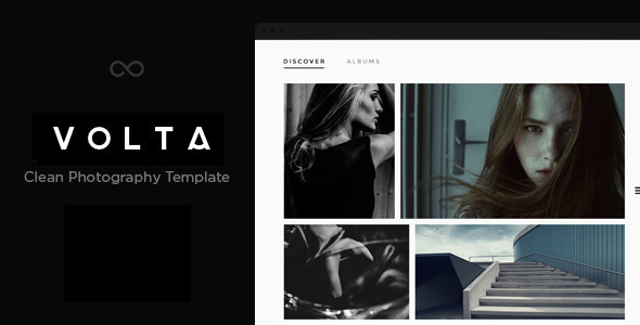 Volta – Creative Photo WordPress Theme