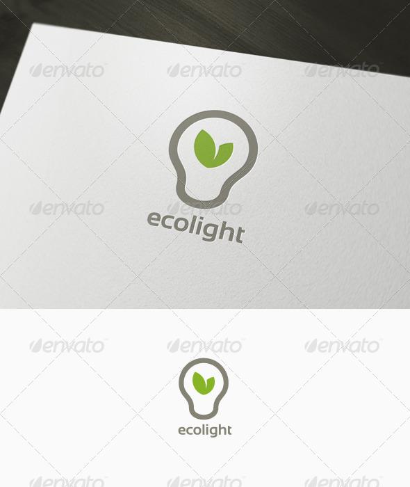 Eco Light Logo - Nature Logo Templates