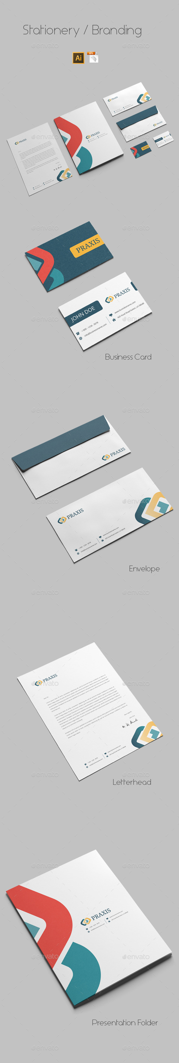 Branding Stationery Templates - Stationery Print Templates