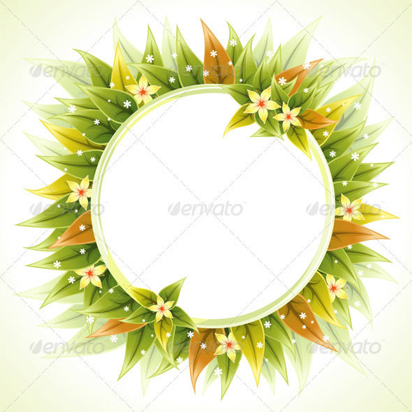 Floral Frame - Borders Decorative