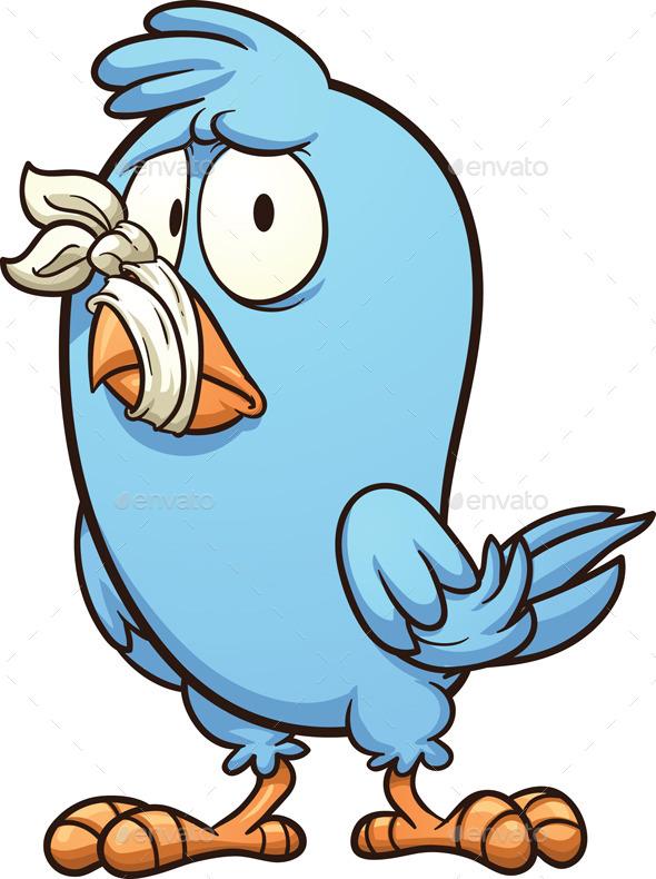 Mute Bird - Animals Characters