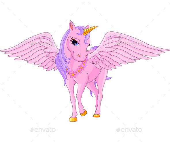 Unicorn Pegasus - Animals Characters