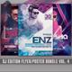 Guest DJ Party Flyer/Poster Bundle Vol.4 - GraphicRiver Item for Sale