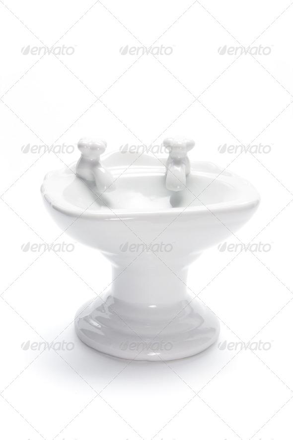 Miniature Wash Basin - Stock Photo - Images