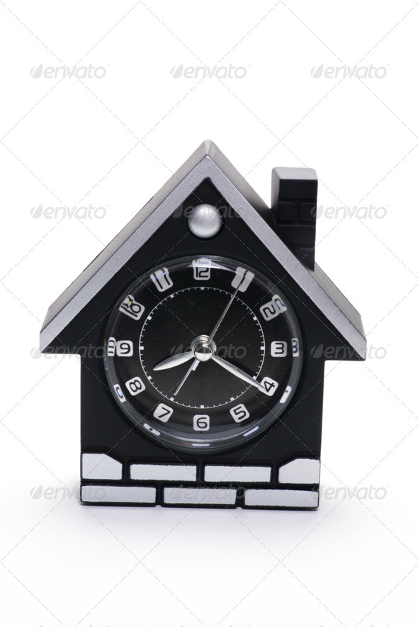 Mantle Clock - Stock Photo - Images