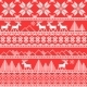 Traditional Christmas Ornamental Pattern - GraphicRiver Item for Sale