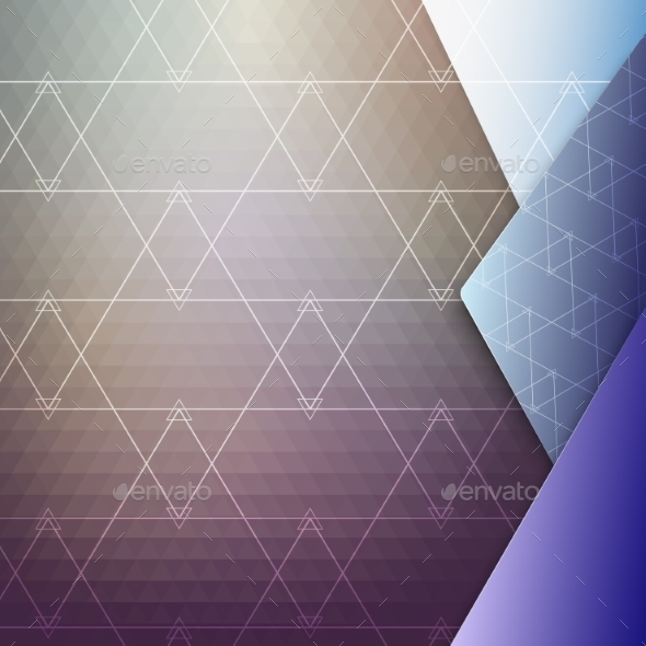 Colorful Geometric Background - Backgrounds Decorative