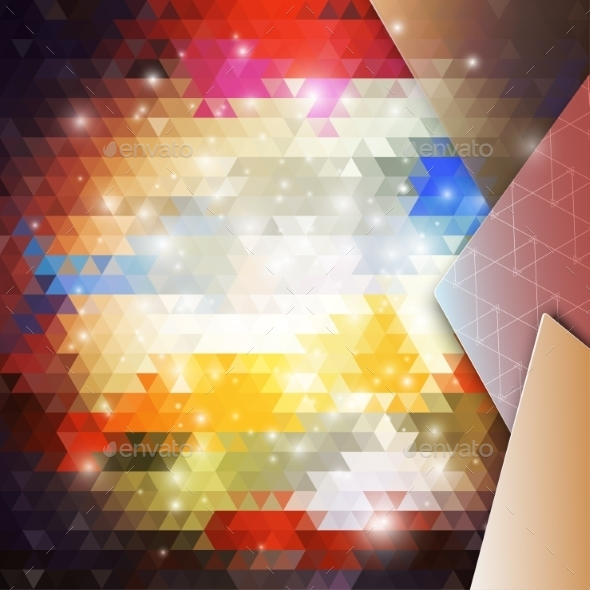 Abstract Colored Background - Backgrounds Decorative