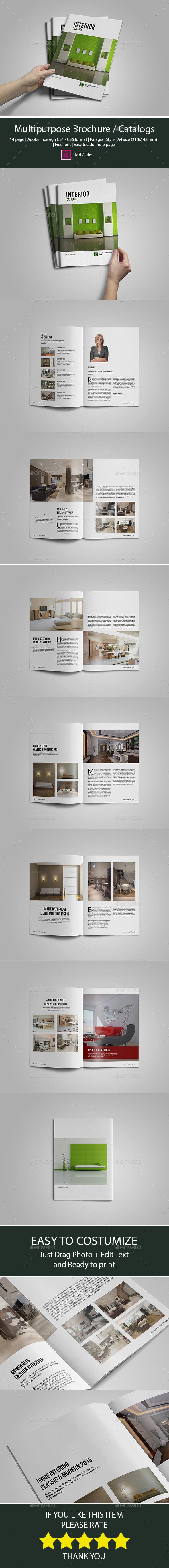 Multi Purpose Catalog / Brochure - Catalogs Brochures