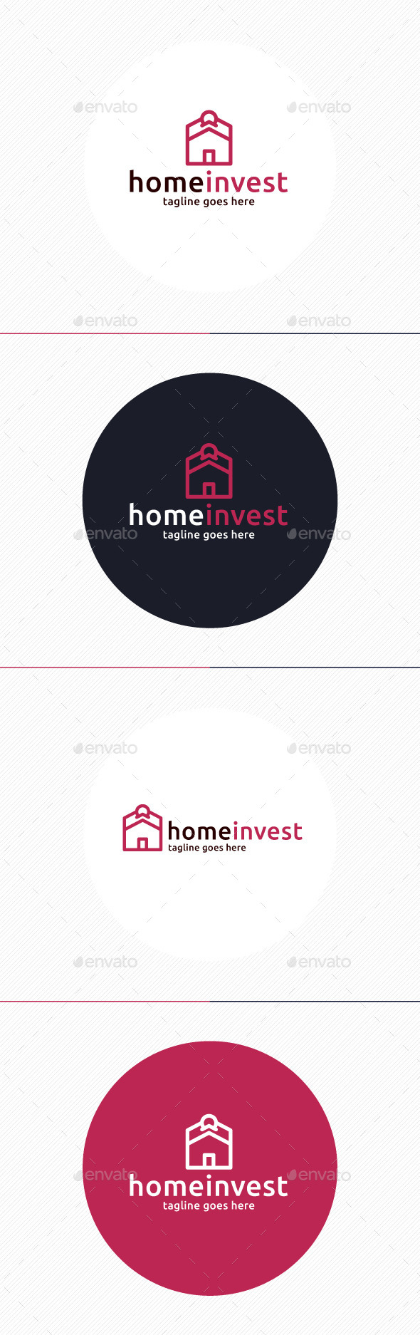 Home Invest Logo - Buildings Logo Templates