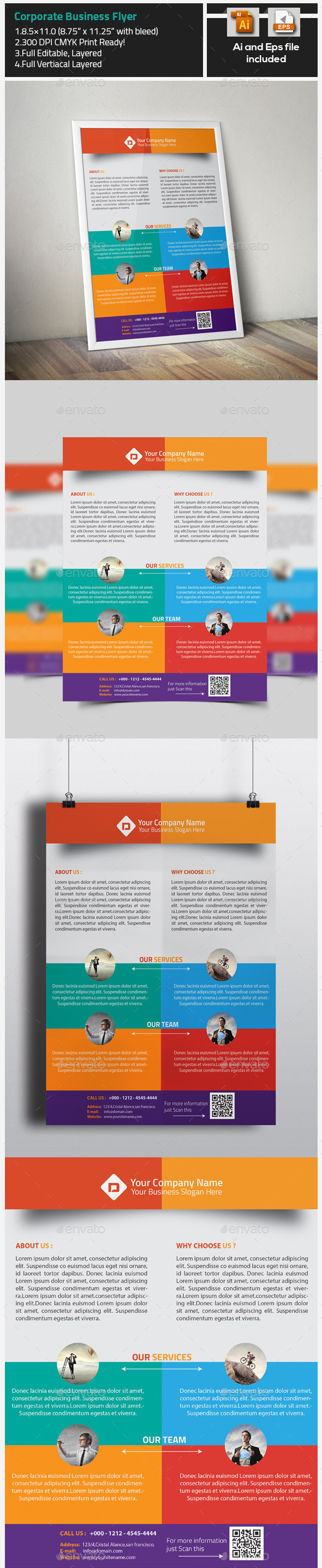 Corporate Creative Business Flyer - Corporate Flyers