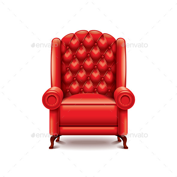 Red Armchair  - Miscellaneous Vectors