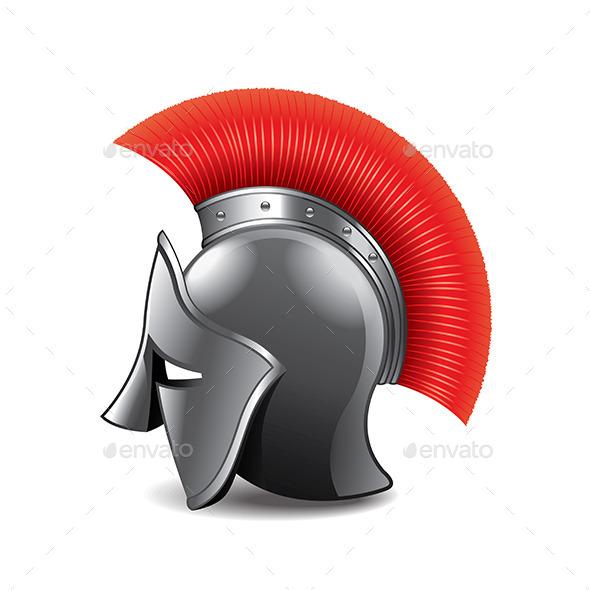 Roman Helmet - Miscellaneous Vectors