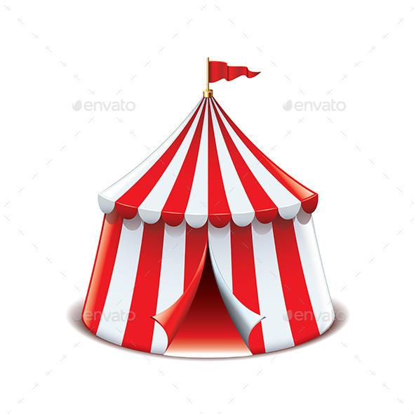 Circus Tent  - Sports/Activity Conceptual