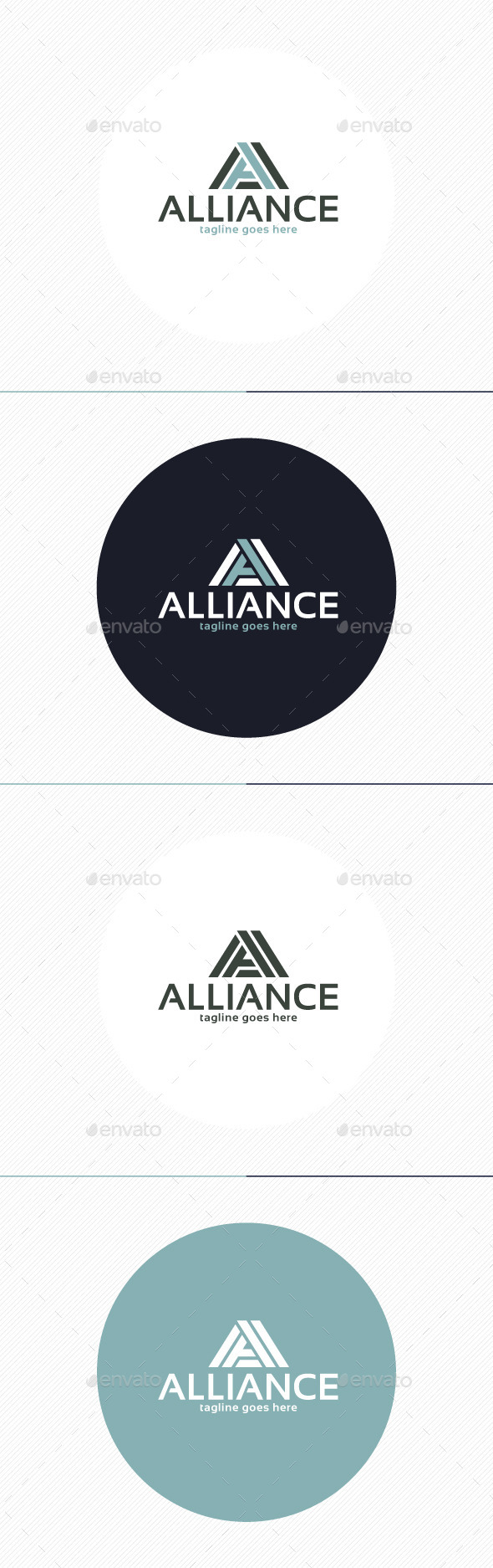 Alliance Logo • Letter A - Letters Logo Templates