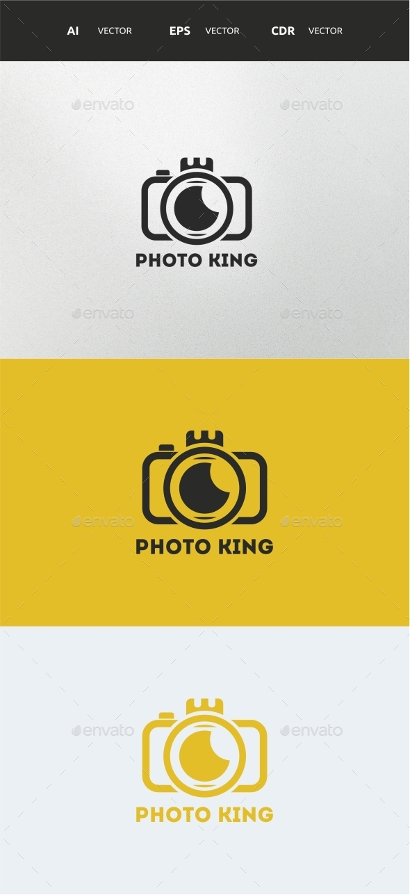 PHOTO KING  - Objects Logo Templates