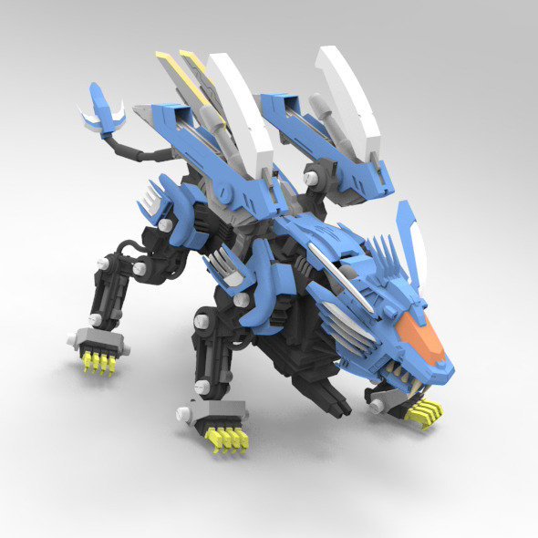 Blade Liger - 3DOcean Item for Sale