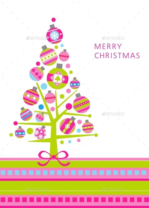 Modern Christmas Tree - Christmas Seasons/Holidays