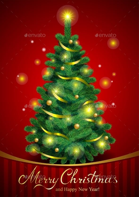 Classic Christmas Tree - Christmas Seasons/Holidays